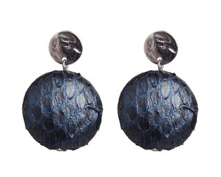 charlotte earrings blue silver