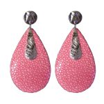 earrings_rose_pink_silver_stingray_giulia