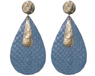 earrings_ice_blue_gold_snakeskin_federica